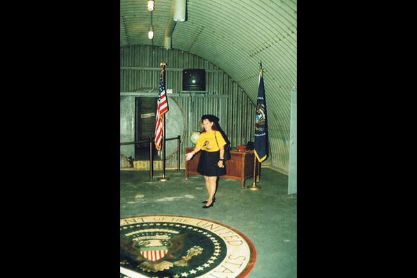President Kennedy nuclear fallout shelter in Florida