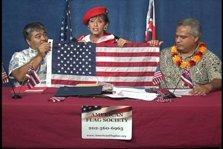 Flag program boardcast on Hoike Kauai Community Television